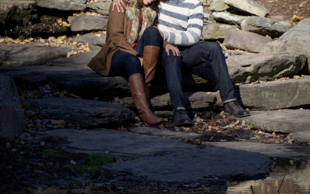 Alisha + Eric |Green Springs Garden Park | Engagement in Alexandria, VA
