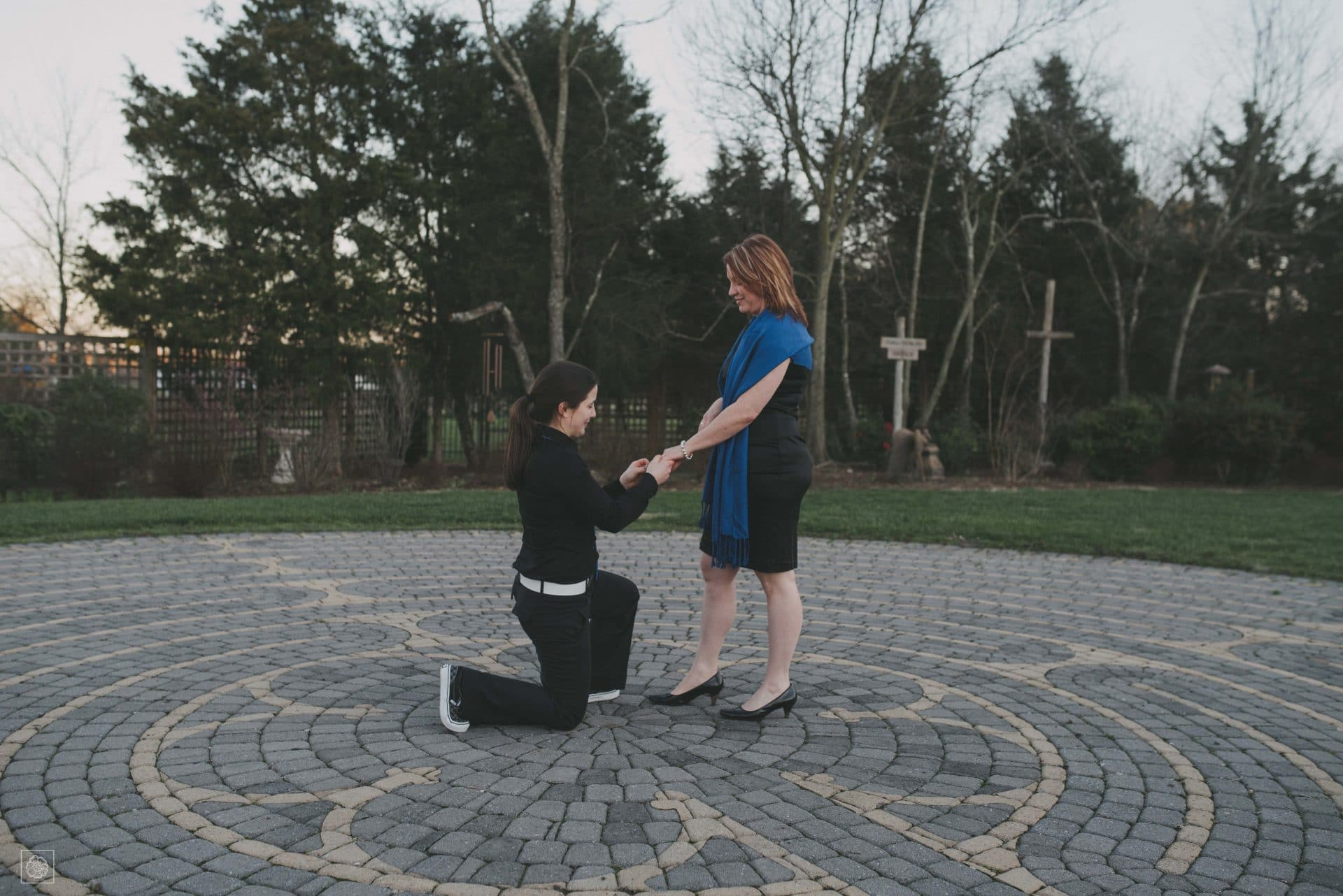 Virginia Engagement - St. Benedict Monastery