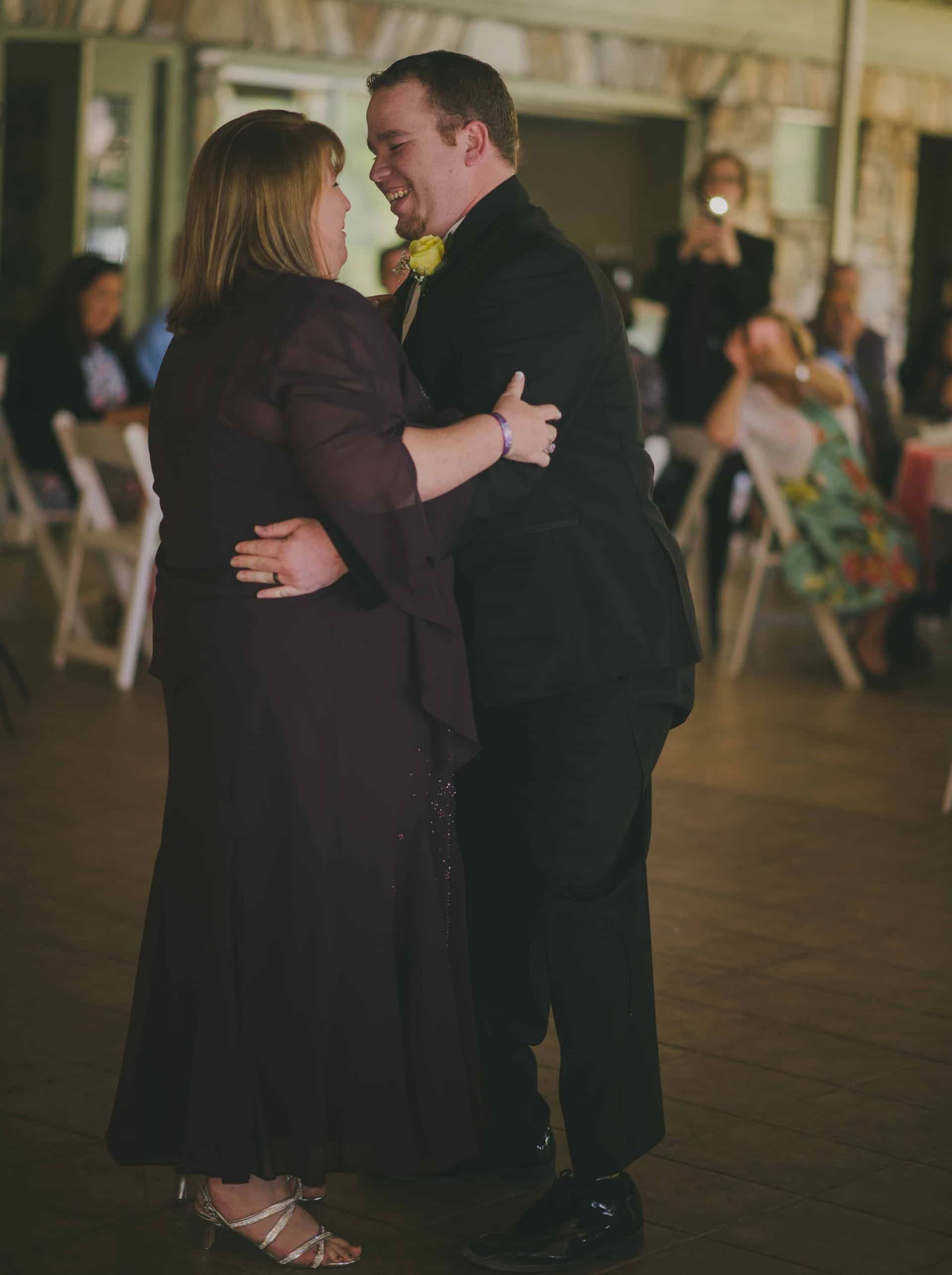 North Carolina Wedding - Mother -Son Dance