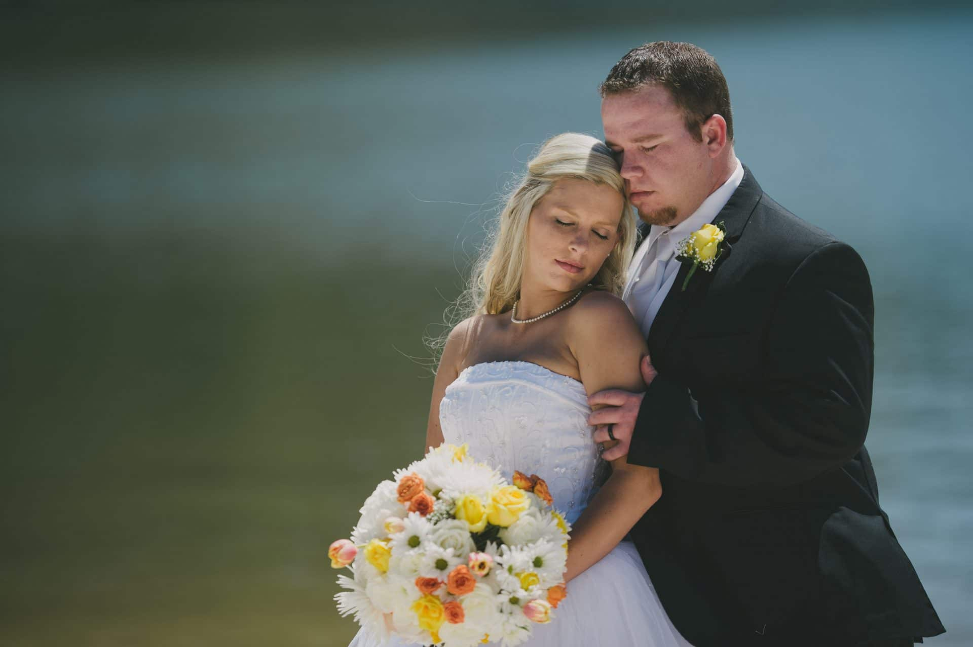 Lake Lure - Wedding -Bride and Groom