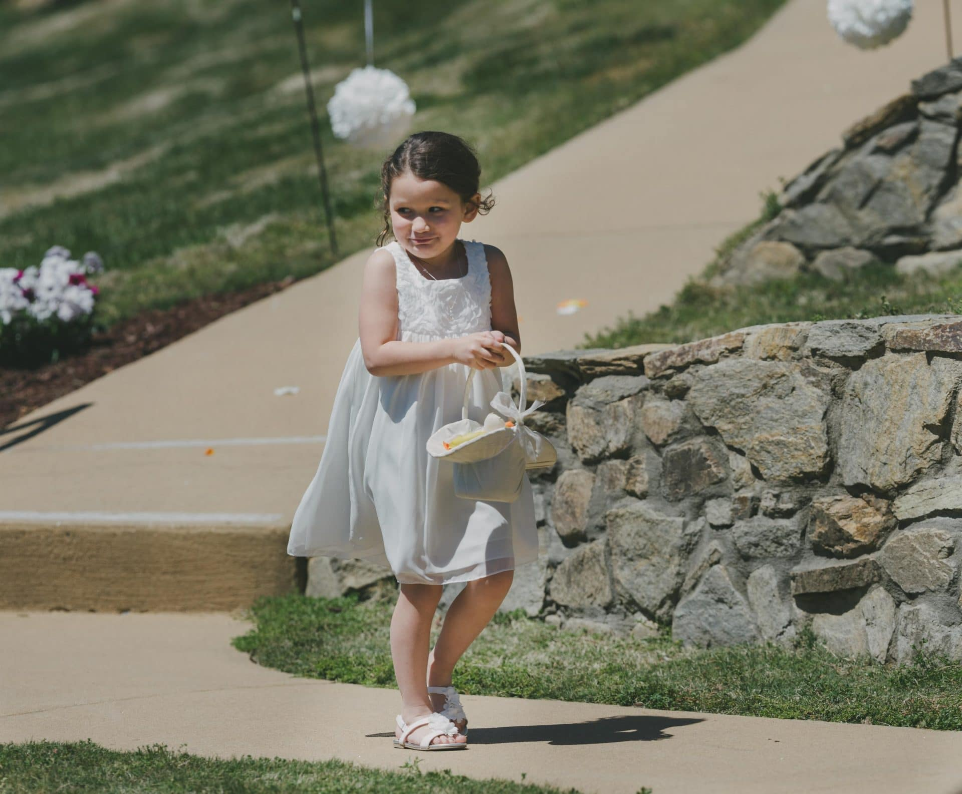 Lake Lure - Wedding - Ceremony - Flower Girl-3