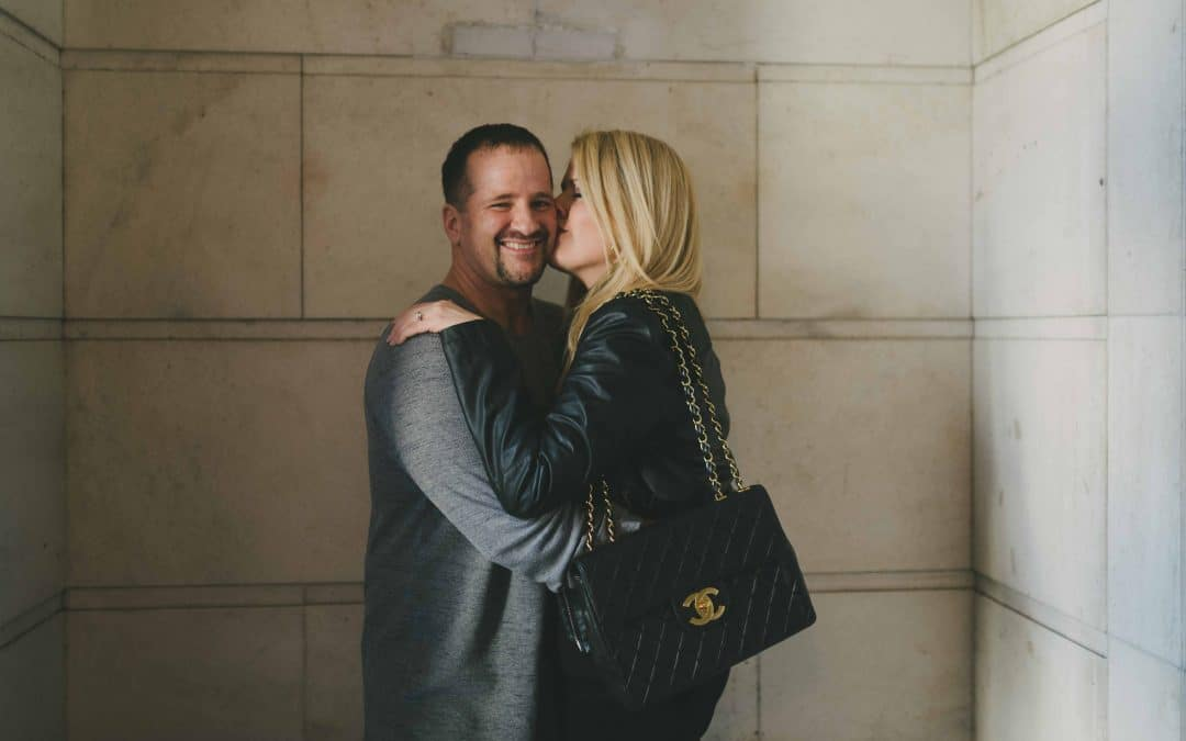Mollie & Todd // National Portrait Gallery // Engagement Session