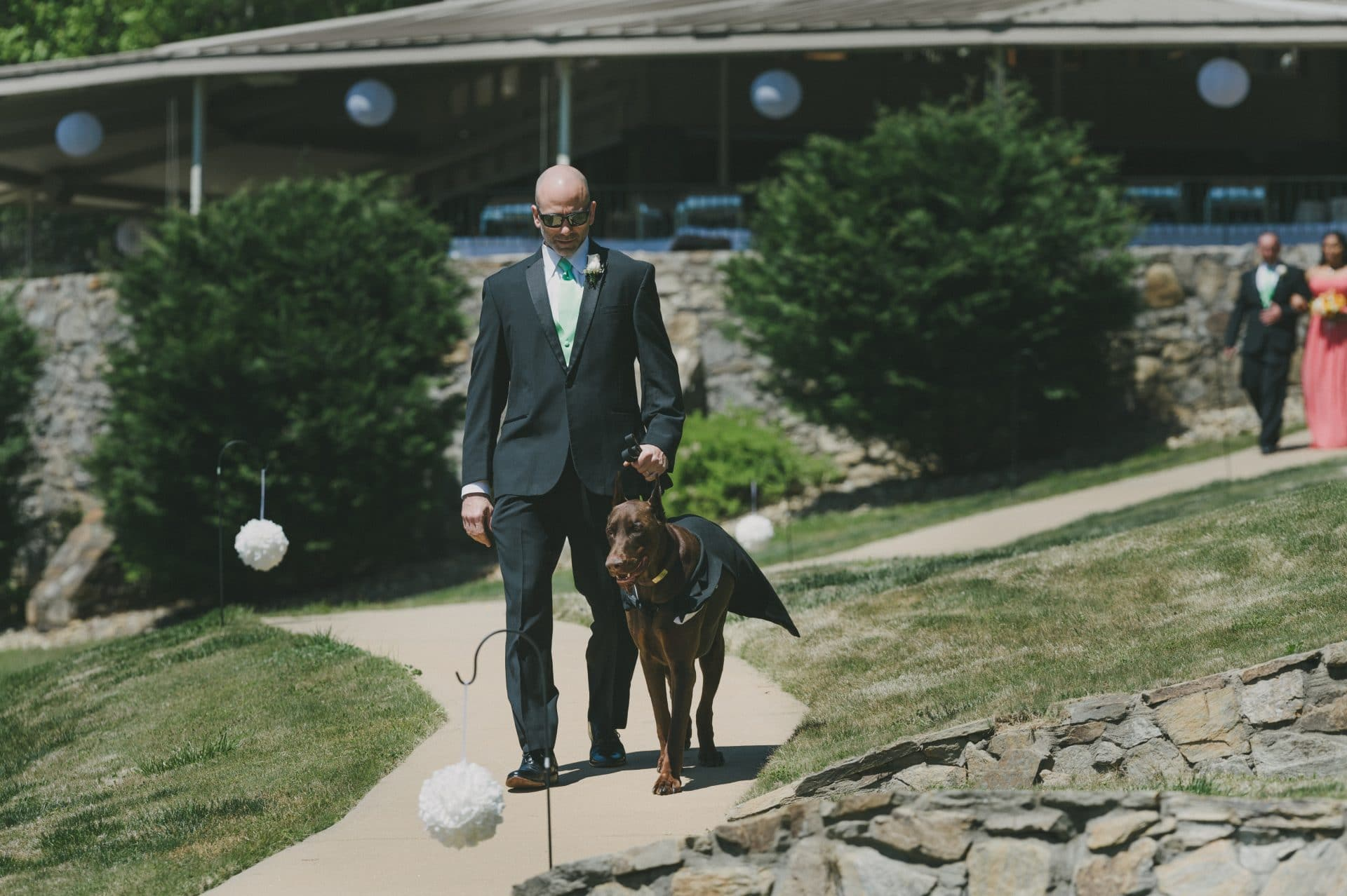 Rumbing Bald Resort - Nuptuals - Ceremony - Dog