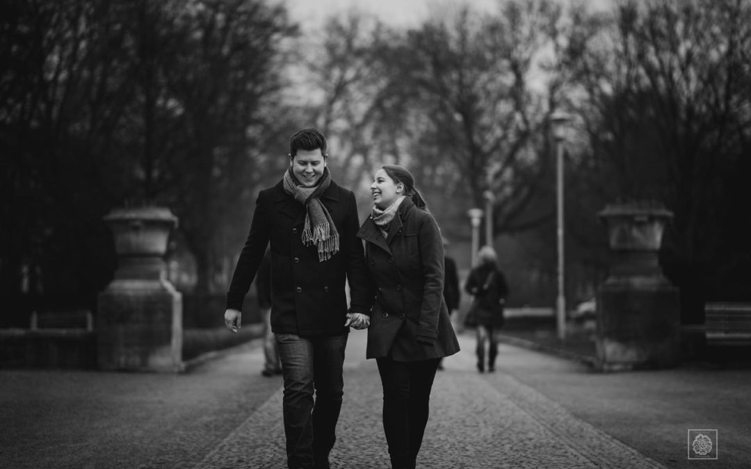 Hannover, Germany Engagement Session | Lea + Ole