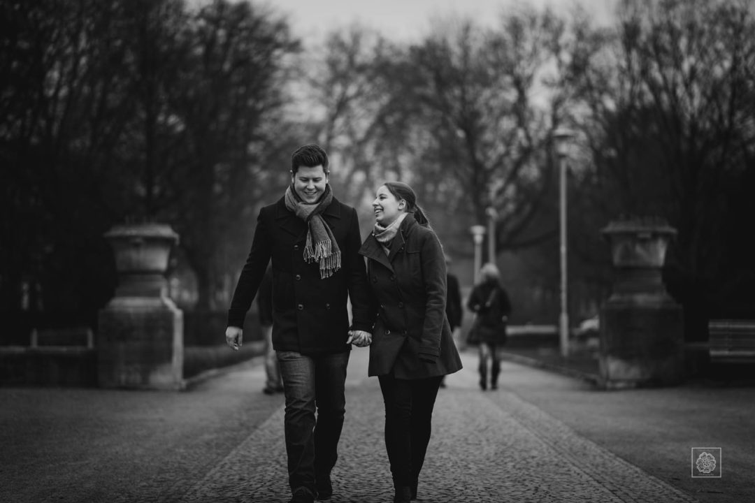 New Town Hall Hannover Park Engagement Session