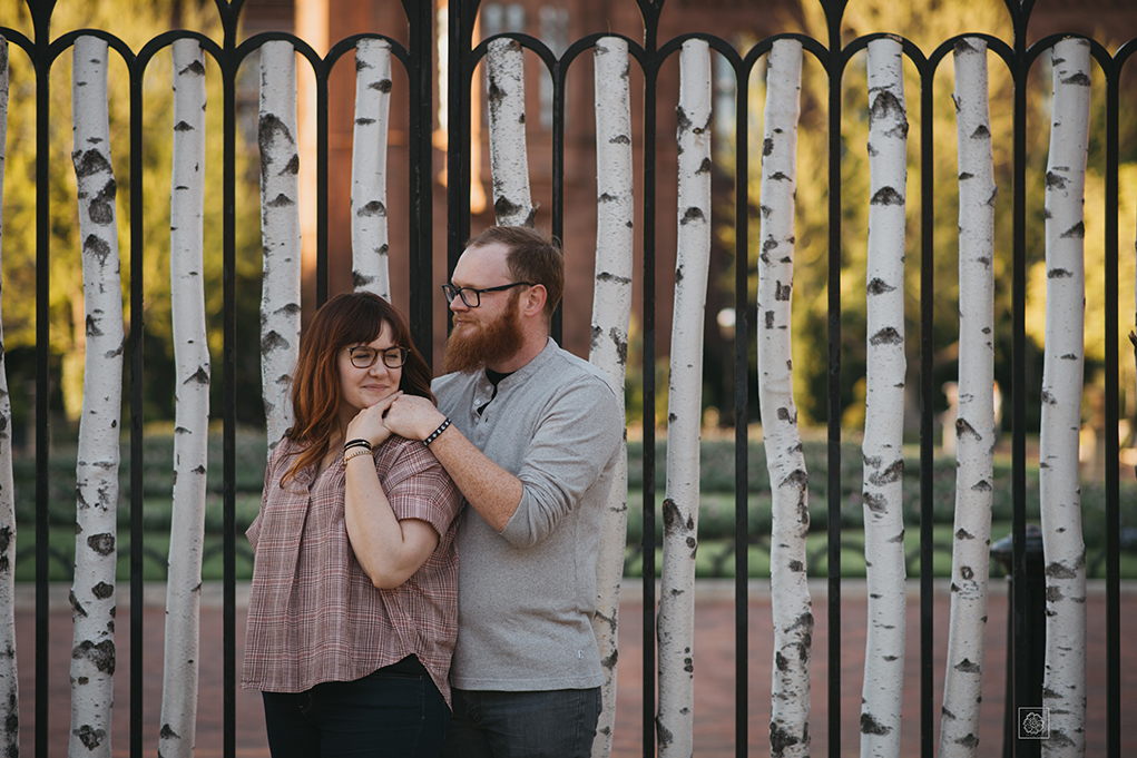 Smithsonian Castle Washington, D.C. Engagement Photography