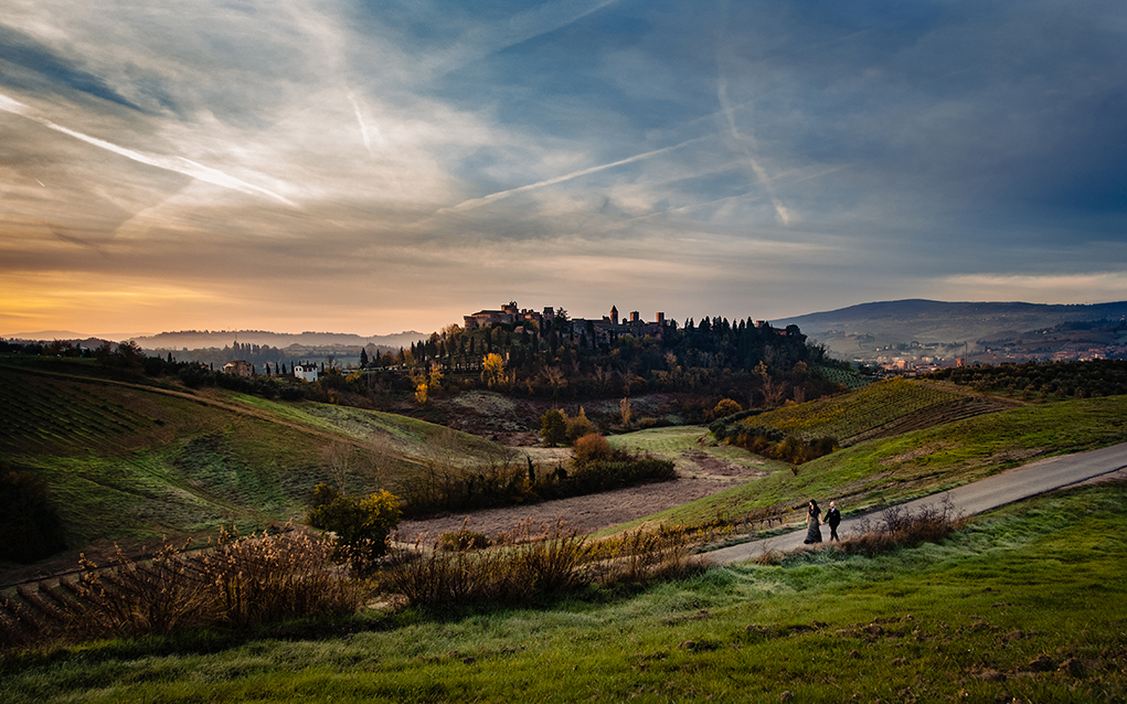 Certaldo Tuscany Italy Destination Couple's Photos