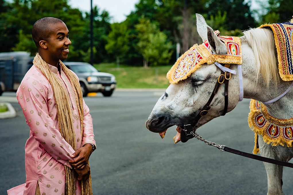 Bellevue Conference Event Center Indian Wedding Traditions Baraath Horse