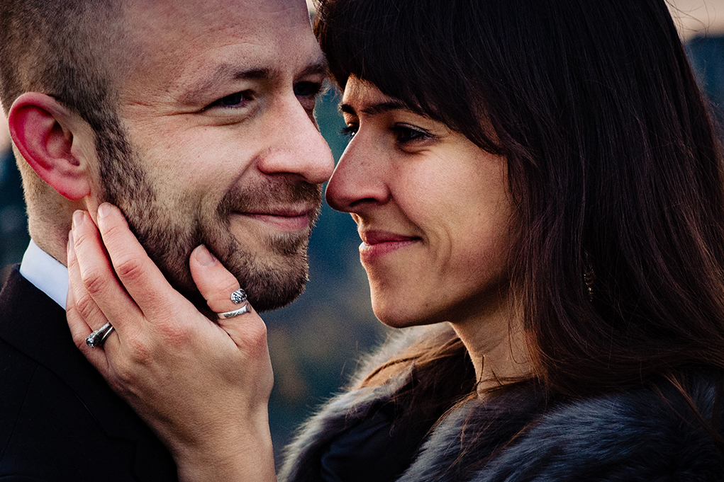Brittany Johnny Certaldo Tuscany Italy Couple's Portrait Sunrise Session