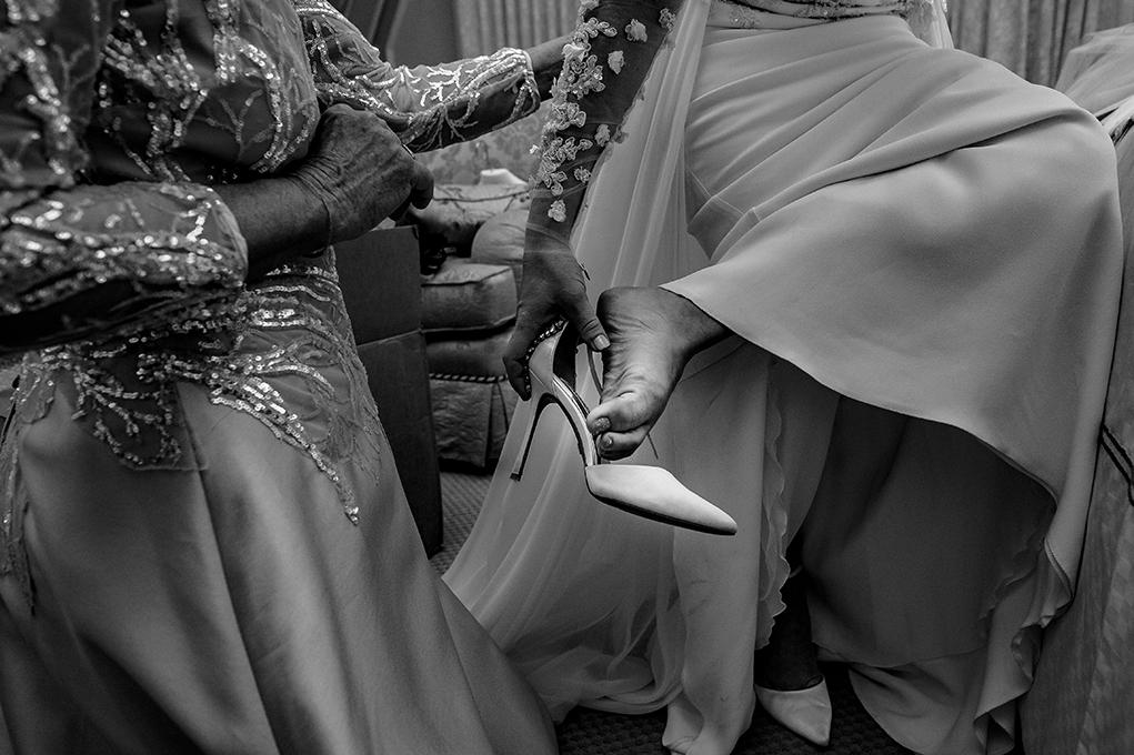 Cosmos Club DC Wedding Bride Getting Ready