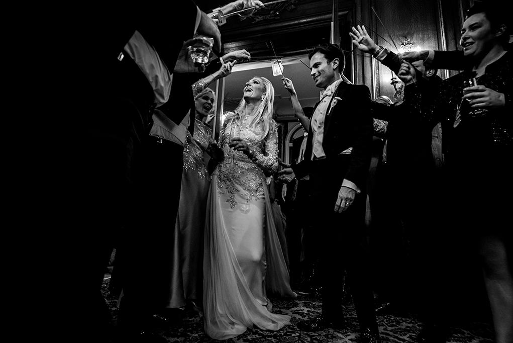 Cosmos Club DC Wedding Exit