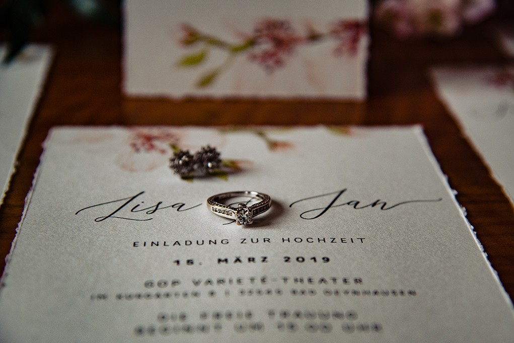 Cherry Blossom Inspired Wedding Decor by DC Wedding Photographers of Potok's World Photography