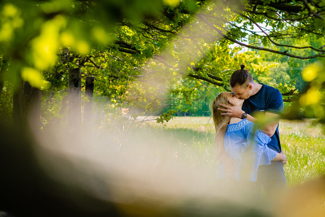 Creative engagement photos in Hannover Germany by Washington DC wedding photographers of Potok's World Photography