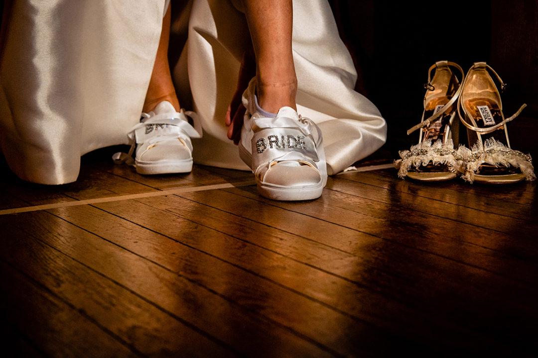 Capitol Hill Church mini wedding bride and groom portrait by Virginia wedding photographers Potok's World photography