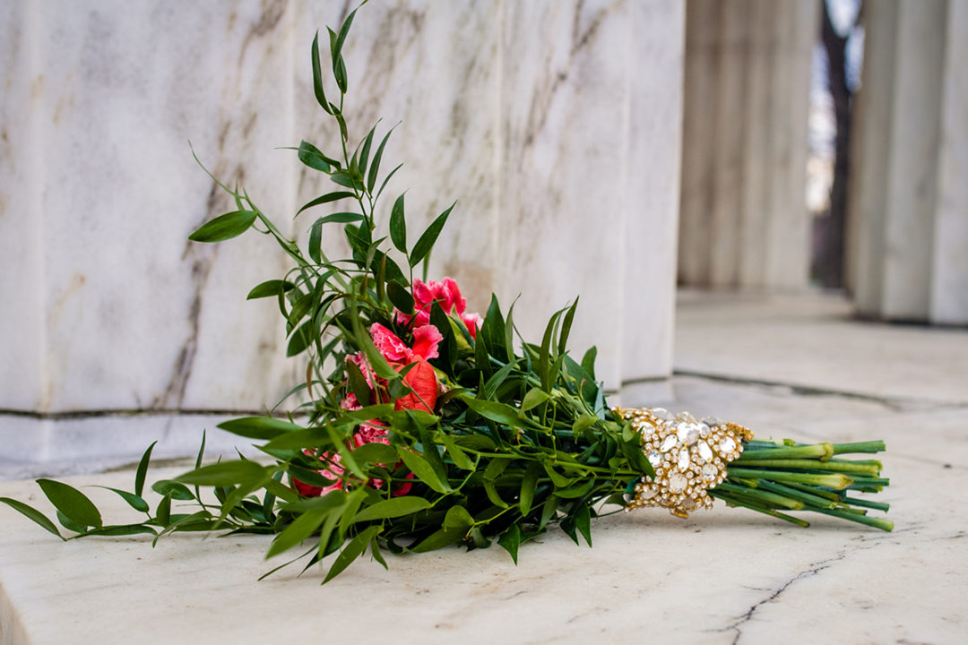 Colorful winter bouquet at the War Memorial by Potok's World Photography