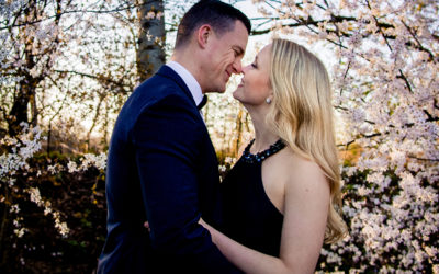 Top Washington DC Area Cherry Blossom Engagement Photo Locations