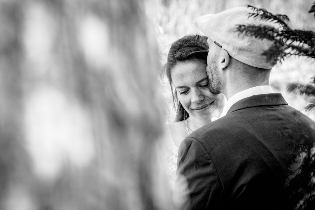 Couple's portraits at the Gehrdener Berg after courthouse wedding by DC wedding photographers of Potok's World Photography