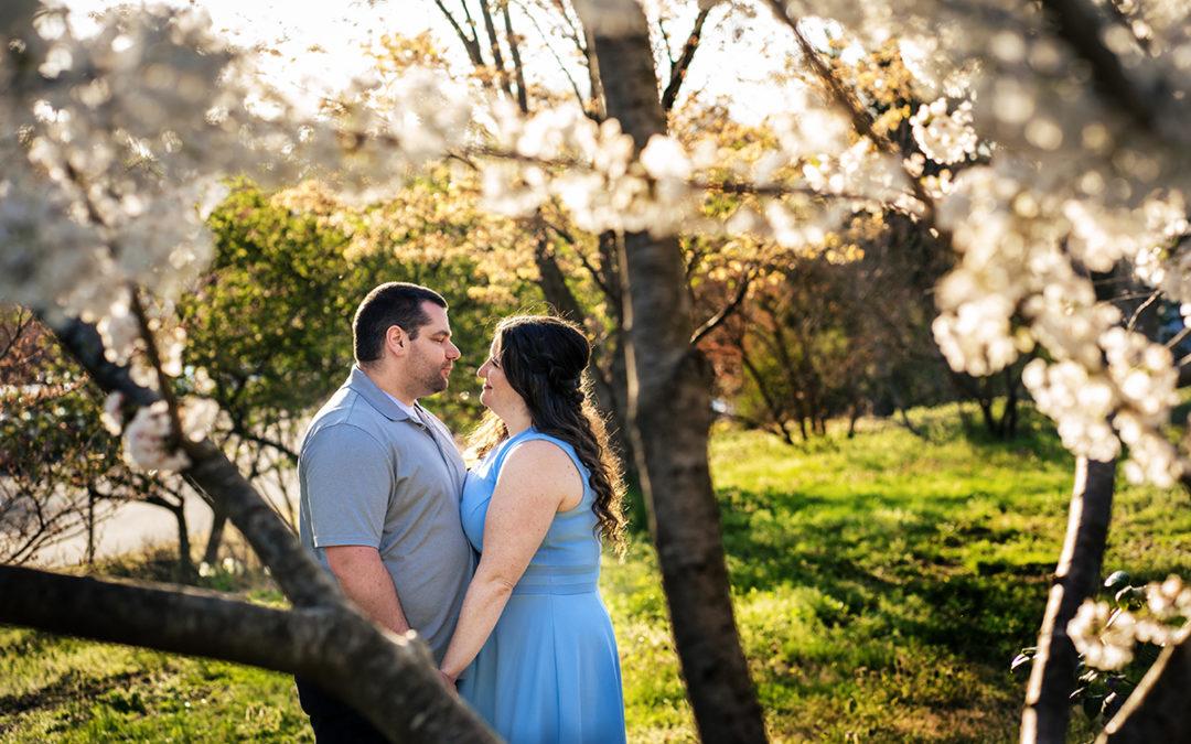Green Spring Gardens Virginia Engagement Photos – Sarah + Mike