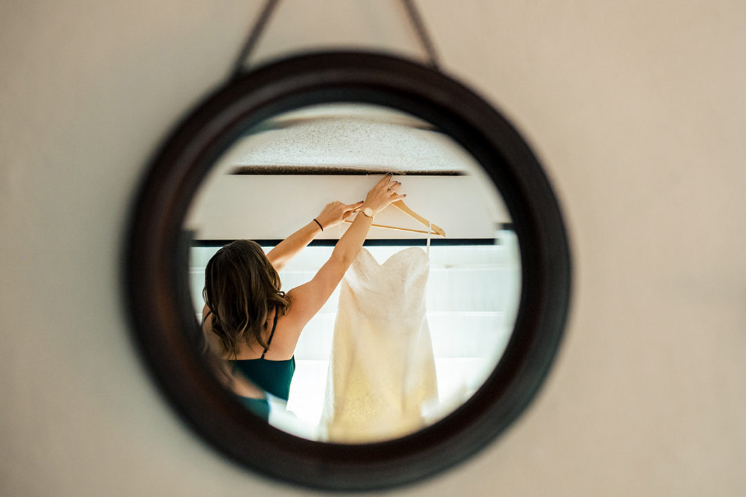 Bride getting ready at Capitol Hill Hotel in Washington DC by Potok's World Photography